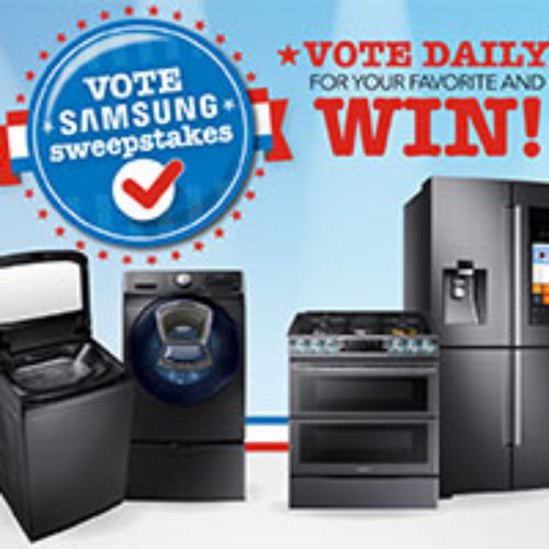 Vote Samsung Sweepstakes