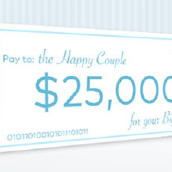 Win $25k For Your Big Day