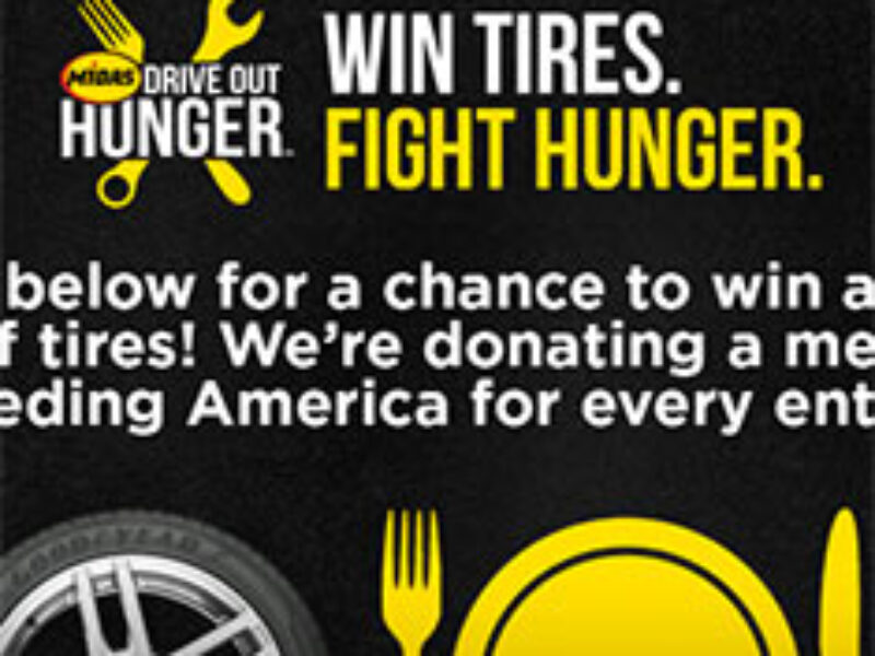 Midas Win Tires Fight Hunger Sweepstakes