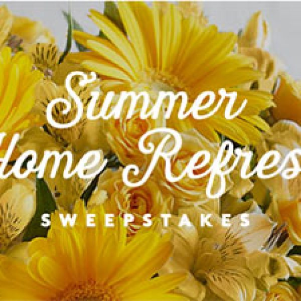 Win $2,500 + A Year Of Flowers