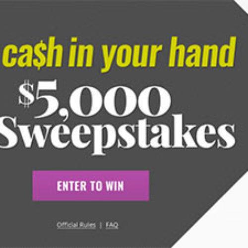 Shape: Win $5,000