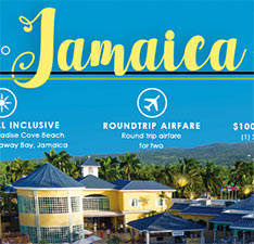 Win A Trip To Jamaica & Shopping Spree