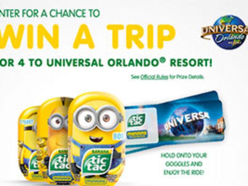 Win A Trip To Universal Orlando