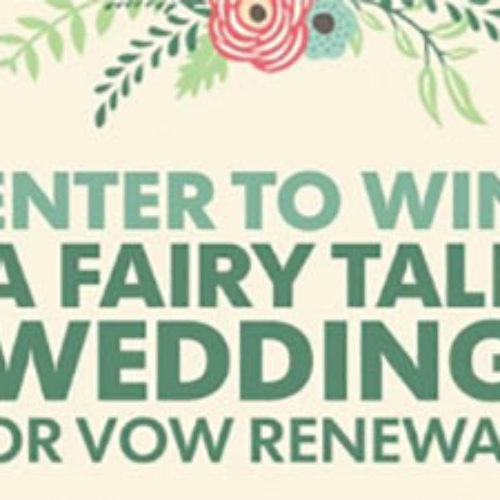 Win A Fairytale Wedding Or Vow Renewal