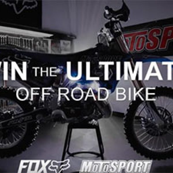 Win A Custom Off-Road Yamaha Bike