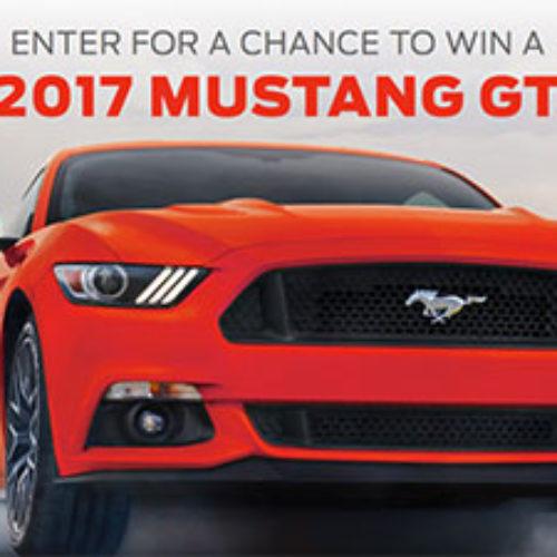 Win A 2017 Mustang GT