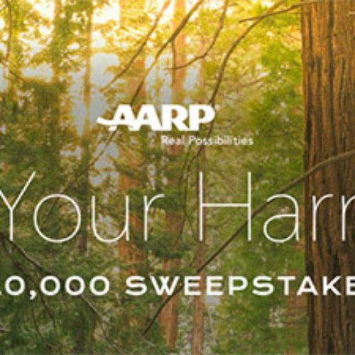 AARP: Win $10,000