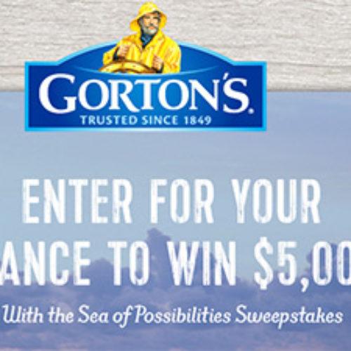 Gorton's: Win $5,000