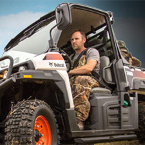 Win A Bobcat Utility Vehicle