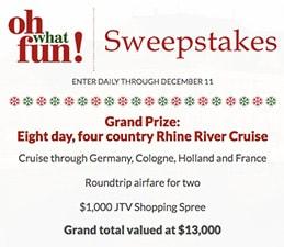 JTV: Win a Rhine River Cruise