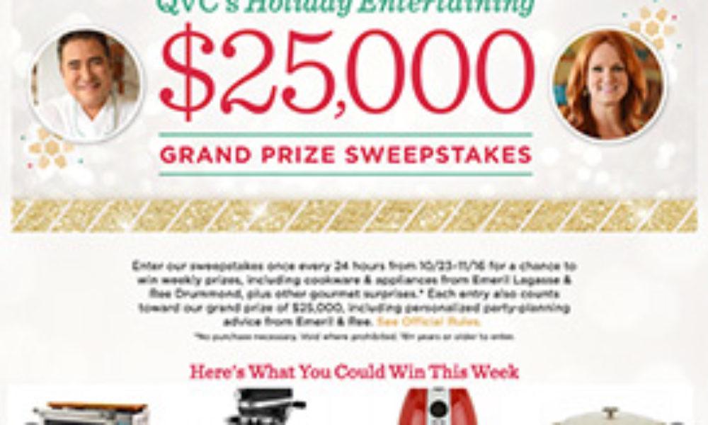 QVC: Win $25,000 + Emeril & Ree Advice