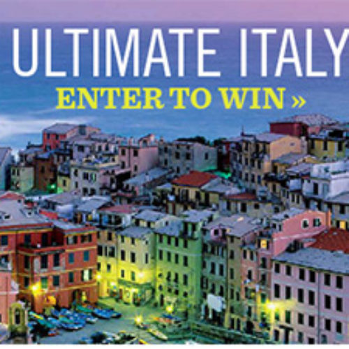 Win a 13-Day Tour of Italy