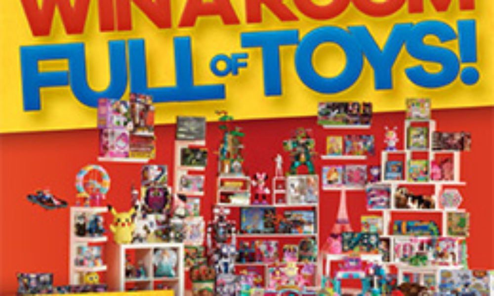 Win a Room Full of Toys