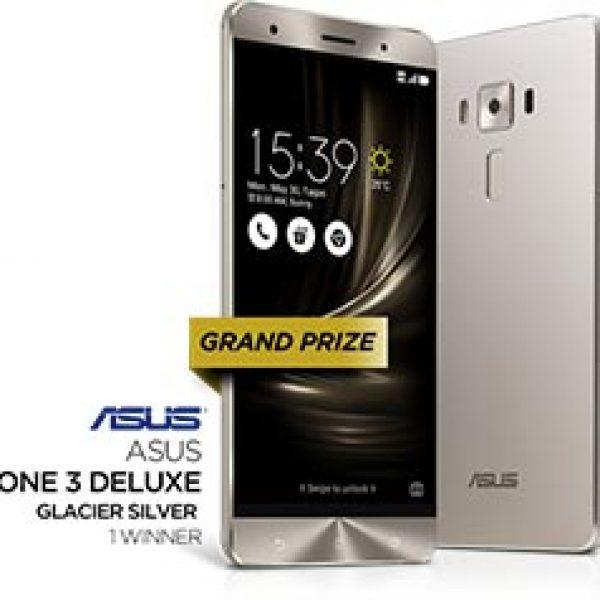 Win an Asus Zenphone 3 Deluxe Smartphone