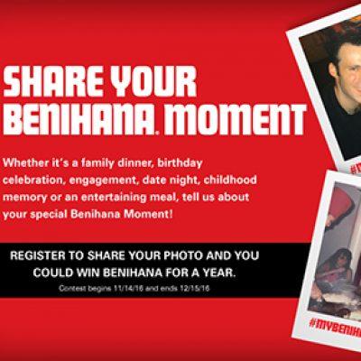Win Benihana For A Year Grannys Giveaways