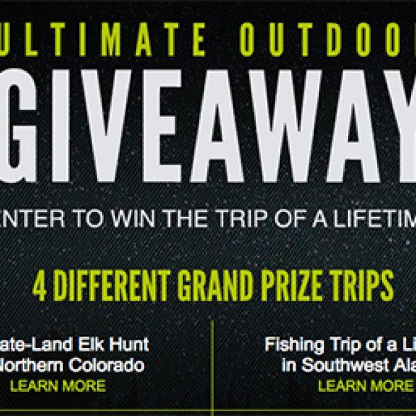 Win 1 of 4 Outdoor Getaway Trips