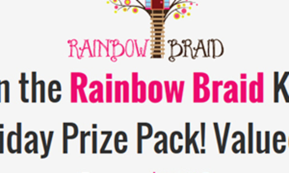 Win a Rainbow Braid Holiday Prize Pack