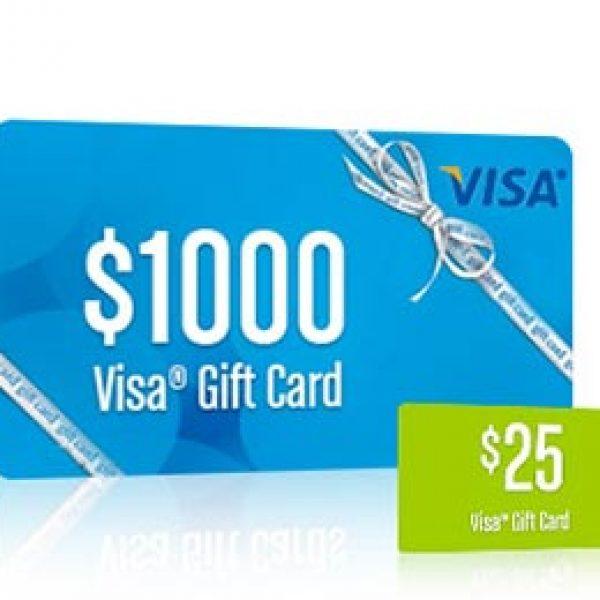 VSP: Win a $1,000 Visa Gift Card