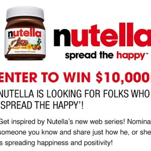 Ellen & Nutella: Win $10,000