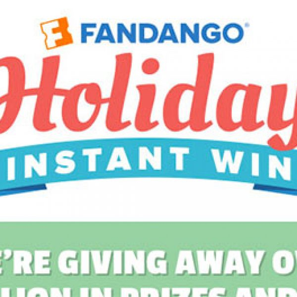 Win Fandango Gift Cards, Movie Tickets & More
