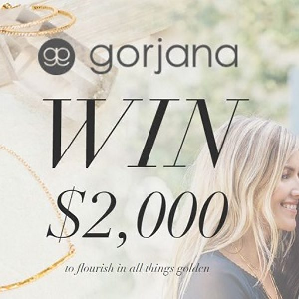 Sweepstakes from Gorjana for your chance to win a USD2,000 Gorjana Gift ...