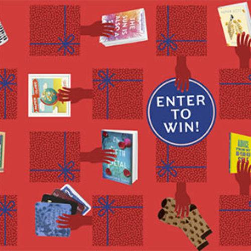 Win 50 Books & a Bookshelf