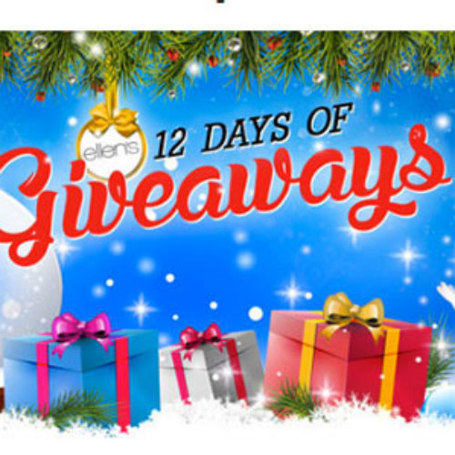 Win Ellen's 12 Days of Giveaways Prizes