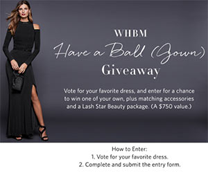 Win a WHBM Gown & Accessories