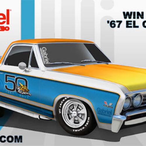 Win a Custom 1967 El Camino
