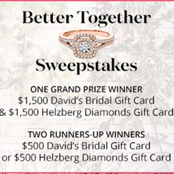 Win a David's Bridal & Helzberg Gift Cards - Granny's Giveaways