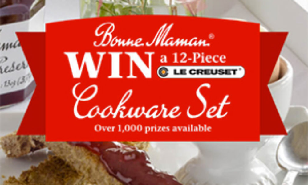 Win a 12-Piece Le Creuset Cookware Set