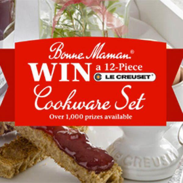 Win a 12-Piece Le Creuset Cookware Set