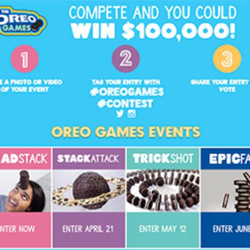 Oreo: Win $100,000