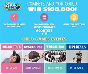 Oreo Win $100,000