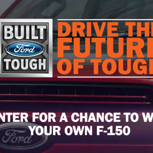 Win a 2018 Ford F-150 Truck