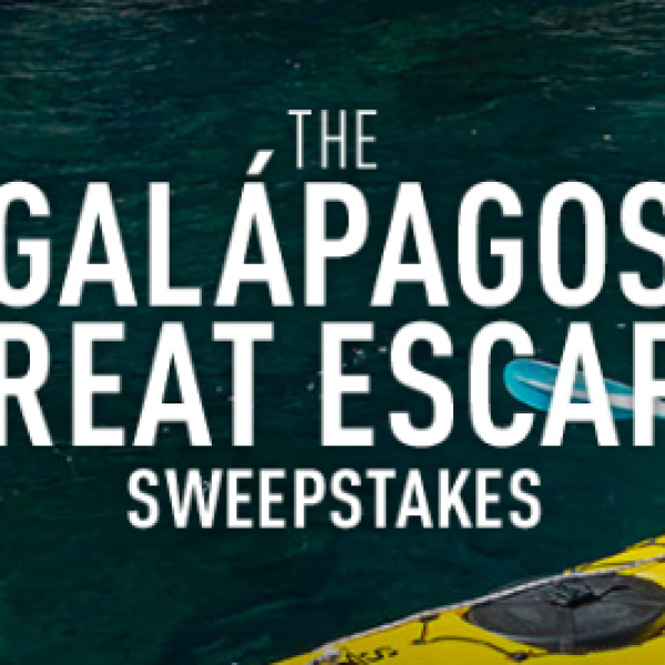 Win a Trip to the Galapagos
