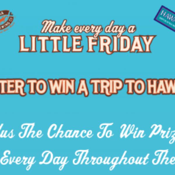 Win 1 of 3 Hawaii Getaways