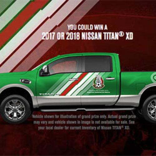 Win a Nissan Titan Truck + $15K