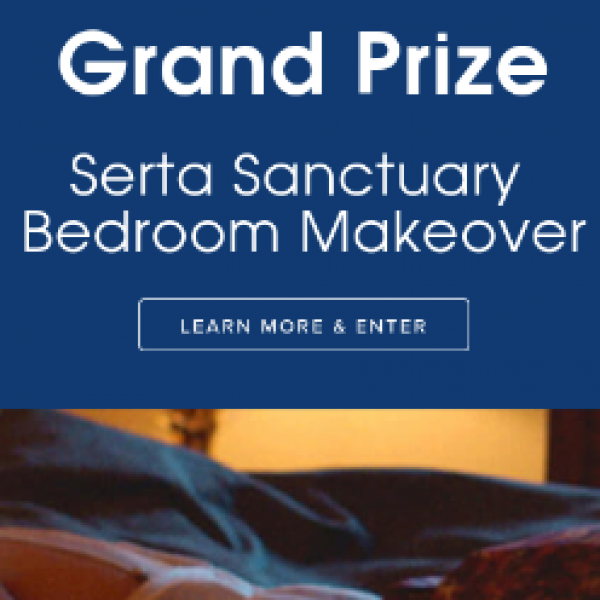 Win a Serta Bedroom Makeover