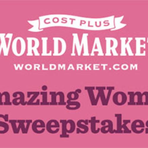 Win a $2,500 World Market Shopping Spree
