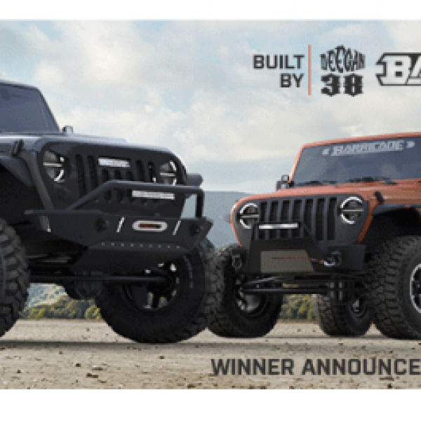 Win Two 2018 Jeep Wranglers