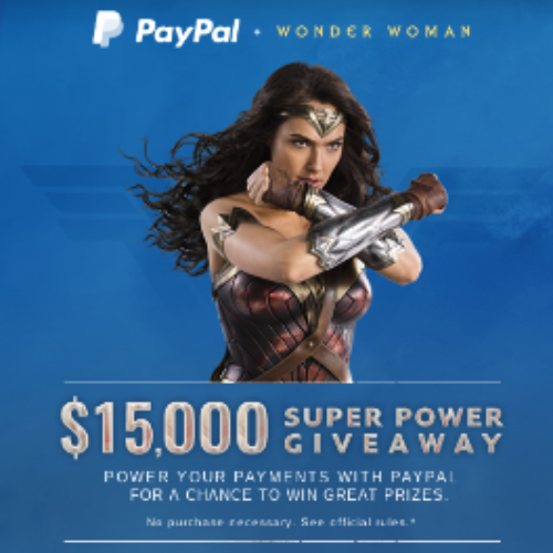 PayPal: Win $15,000