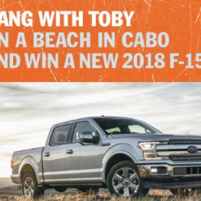 Win A 2018 Ford F 150 Cabo Trip