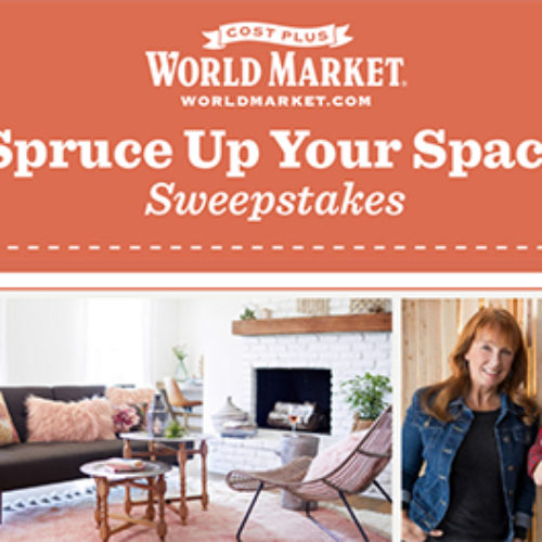 Win a $5K World Market Shopping Spree