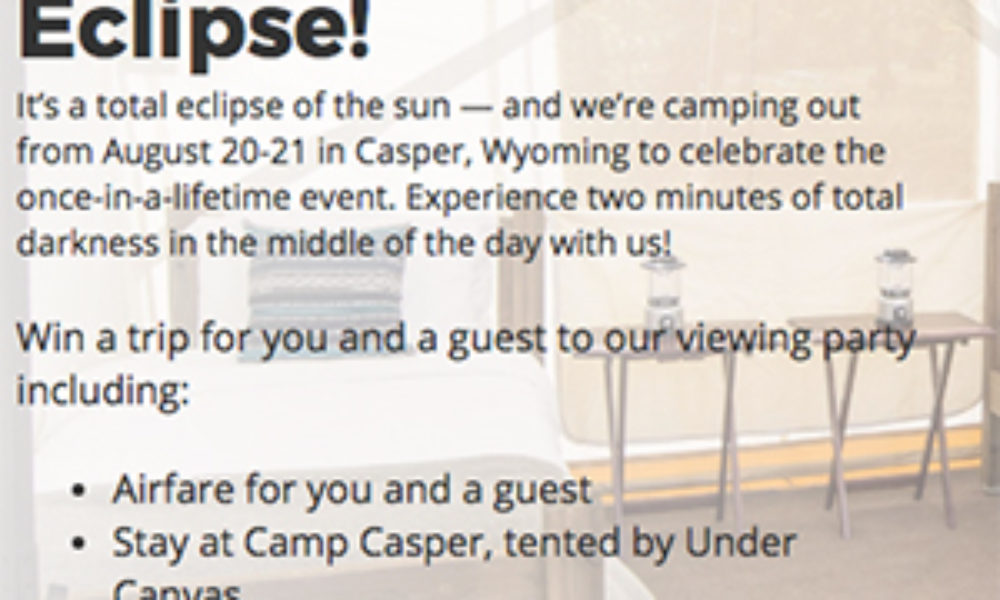 Win a Trip to the Solar Eclipse