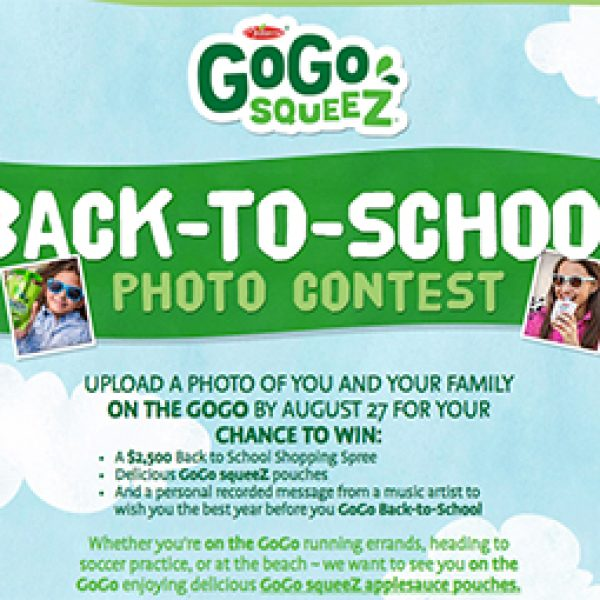 Win a $2,500 Back To School Shopping Spree
