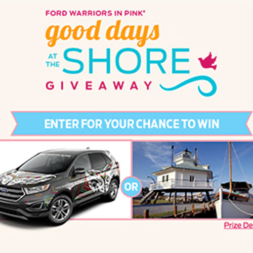 Win a 2017 Ford Edge Titanium