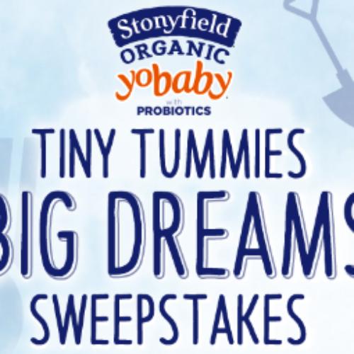 Stonyfield Organic: Win $10K