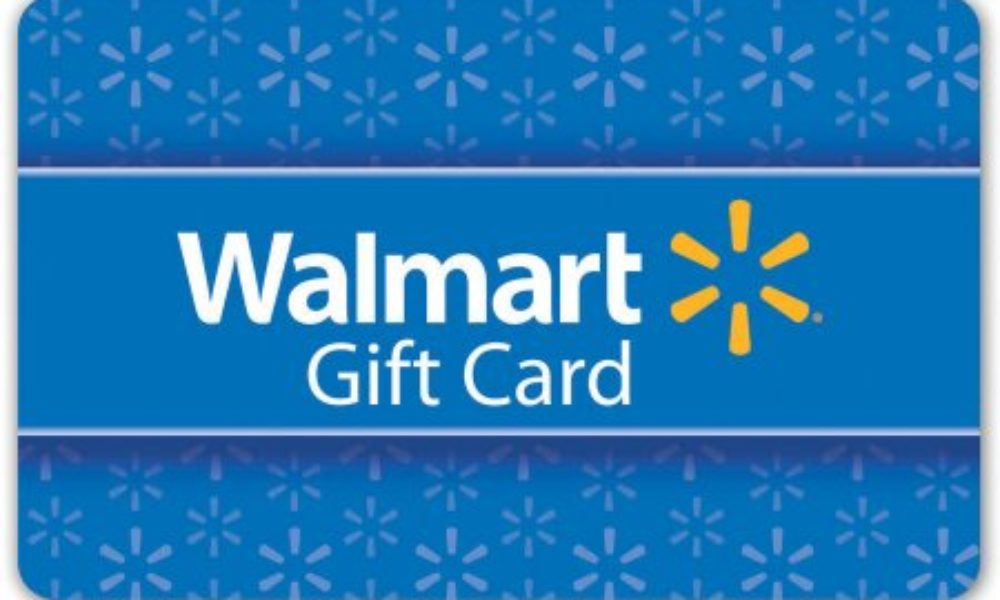 Win a $1,000 Wal-Mart Gift Card