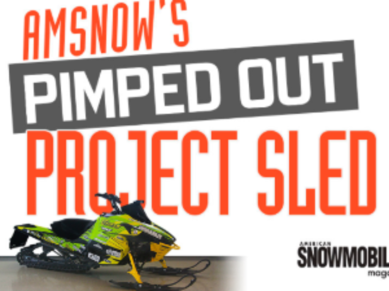 Win an Arctic Cat Snowmobile